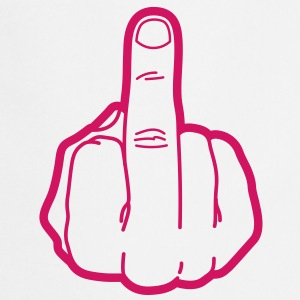 Middle Finger (1c)++ Tabliers - Tablier de cuisine