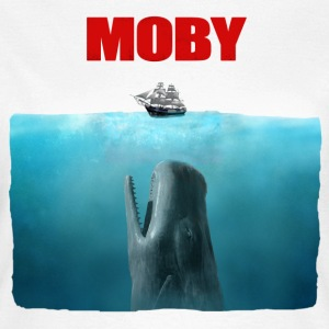 Moby dick Jaws poster - Dame-T-shirt