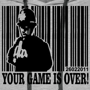 your game is over Pullover & Hoodies - Männer Premium Hoodie