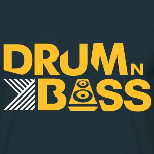 Drum n Bass - Männer T-Shirt