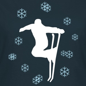 Ski, skiing and snow T-Shirts - Women's T-Shirt