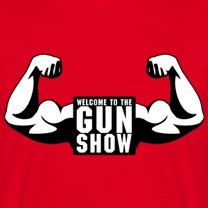 Welcome To The Gun Show Tee shirts - T-shirt Homme