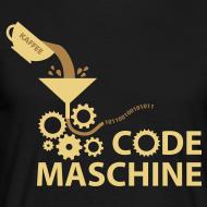 Motiv ~ Code-Maschine Schwarz