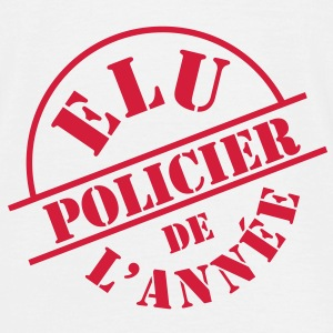 ## Policier ## Tee shirts - T-shirt Homme