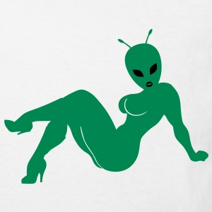 Sexy Alien Tee shirts Enfants - T-shirt Bio Enfant