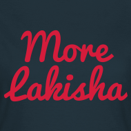 Design ~ More Lakisha t-shirt red/navy
