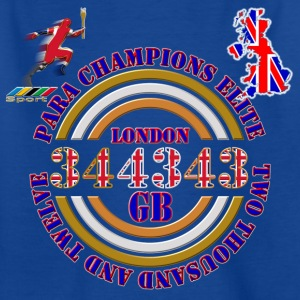 Para Champions Elite GB Kids' Shirts - Teenage T-shirt