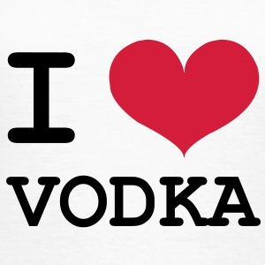 I Love Vodka ! T-shirts - Dame-T-shirt