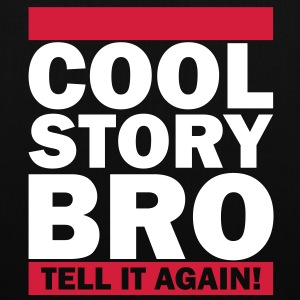 Cool Story Bro - Tell It Again! Taschen - Stoffbeutel