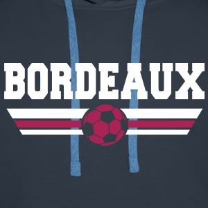 Bordeaux foot 2013 Sweat-shirts - Sweat-shirt à capuche Premium pour hommes