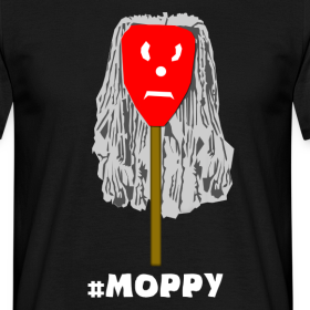 Design ~ #Moppy T-Shirt