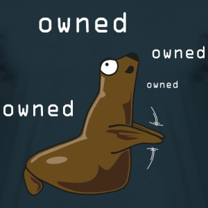 Owned-Rob - Mannen T-shirt