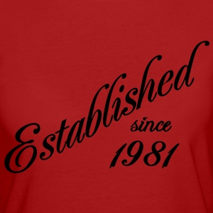 Established since 1981 T-shirts - Ekologisk T-shirt dam