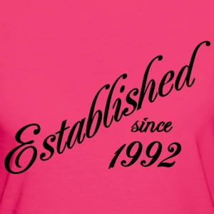 Established since 1992 Camisetas - Camiseta ecológica mujer