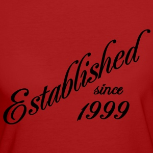 Established since 1999 T-Shirts - Frauen Bio-T-Shirt