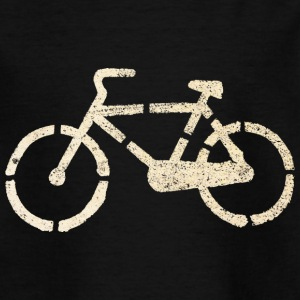 Asphalt Fahrrad | Teenager Shirt - Teenager T-Shirt