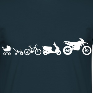 Moto Evolution Endurocross  Camisetas - Camiseta hombre