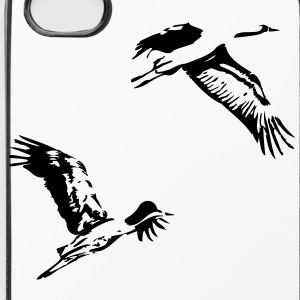 iPhoneCase - Kraniche - iPhone 4/4s Hard Case