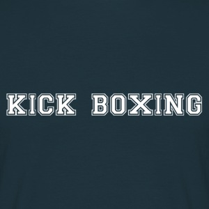 kick boxing T-shirts - Mannen T-shirt