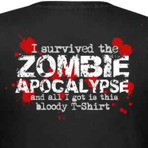 I survived the zombie apocalypse and all I got is this bloody T-Shirt T-Shirts - Frauen T-Shirt