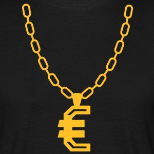 Euro necklace T-Shirts - Men's T-Shirt