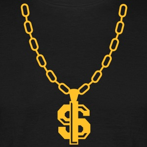 Dollar Necklace T-Shirts - Men's T-Shirt