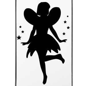 Dancing Fairy / Pixie / Elf with stars Other - iPhone 4/4s Hard Case