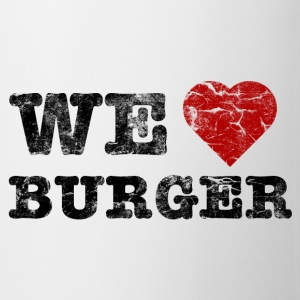 we_love_burger_vintage Flaskor & muggar - Mugg