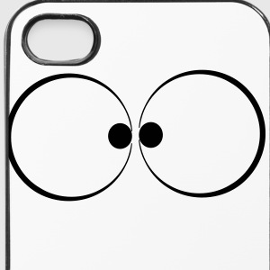 Augen Logo Piktogram - iPhone 4/4s Hard Case