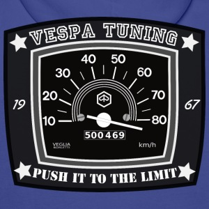 V50: Vespa Tuning Push it to the Limit Pullover & Hoodies - Männer Premium Hoodie