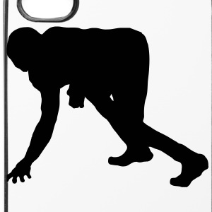 american_football_1_farbig Andet - iPhone 4/4s Hard Case