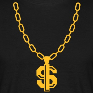 Dollar Necklace T-shirts - T-shirt herr
