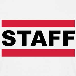 staff T-shirts - Herre-T-shirt