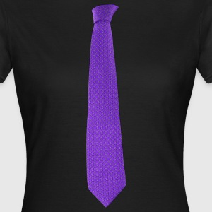 Purple tie T-Shirts - Frauen T-Shirt
