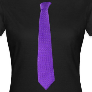 Purple tie T-Shirts - Women's T-Shirt