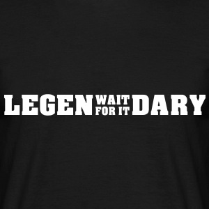 LEGEN - WAIT FOR IT - DARY (SHIRT) - Männer T-Shirt