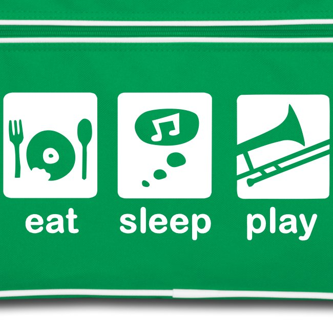 eat-sleep-play Posaunentasche
