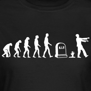 zombie evolution T-shirts - Vrouwen T-shirt