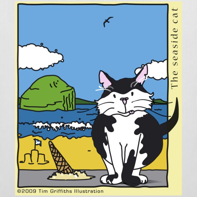 The seaside cat
