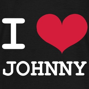 I Love Johnny ! Tee shirts - T-shirt Homme