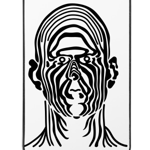 Zebra Gesicht - iPhone 4/4s Hard Case