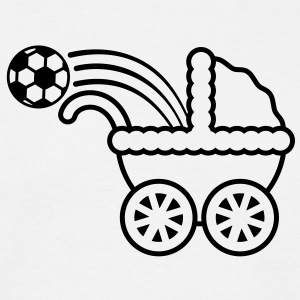 born_to_play_soccer T-shirts - Mannen T-shirt