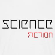 Grafiikka ~ Miesten (Science Fiction) T-paita