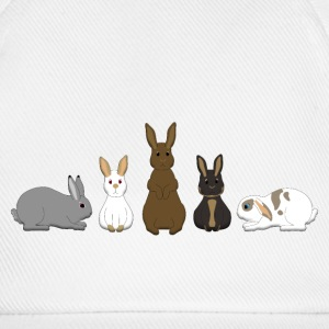 5 Rabbits Caps & Hats - Baseball Cap