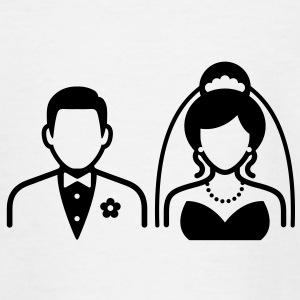 Wedding Couple (1c)++ Shirts - Kids' T-Shirt