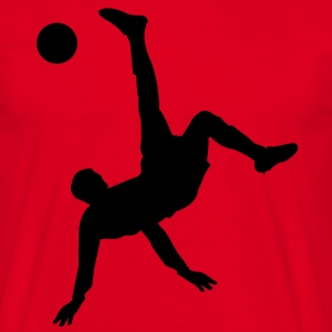 Overhead kick  T-Shirts - Men's T-Shirt