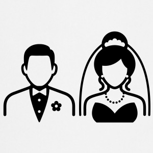Wedding Couple (1c)++ Tabliers - Tablier de cuisine