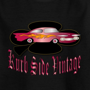 vintage automobile badge designer patjila Shirts - Kids' T-Shirt