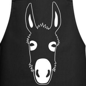 donkey mule jackass horse fool idiot jack ass  Aprons - Cooking Apron