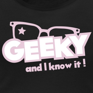 Geeky and I know it Tee shirts - T-shirt col rond U Femme
